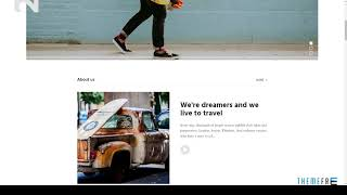 Blogger - Creative personal Blog HTML Template        Andy Newton