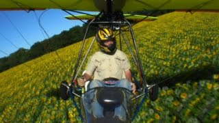 Lil Prop - Big Trip (POV Ultralight Flying Movie)