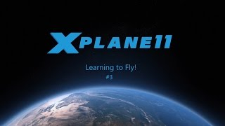 X-Plane 11 - Learning To fly - VOR's & Autopilot!