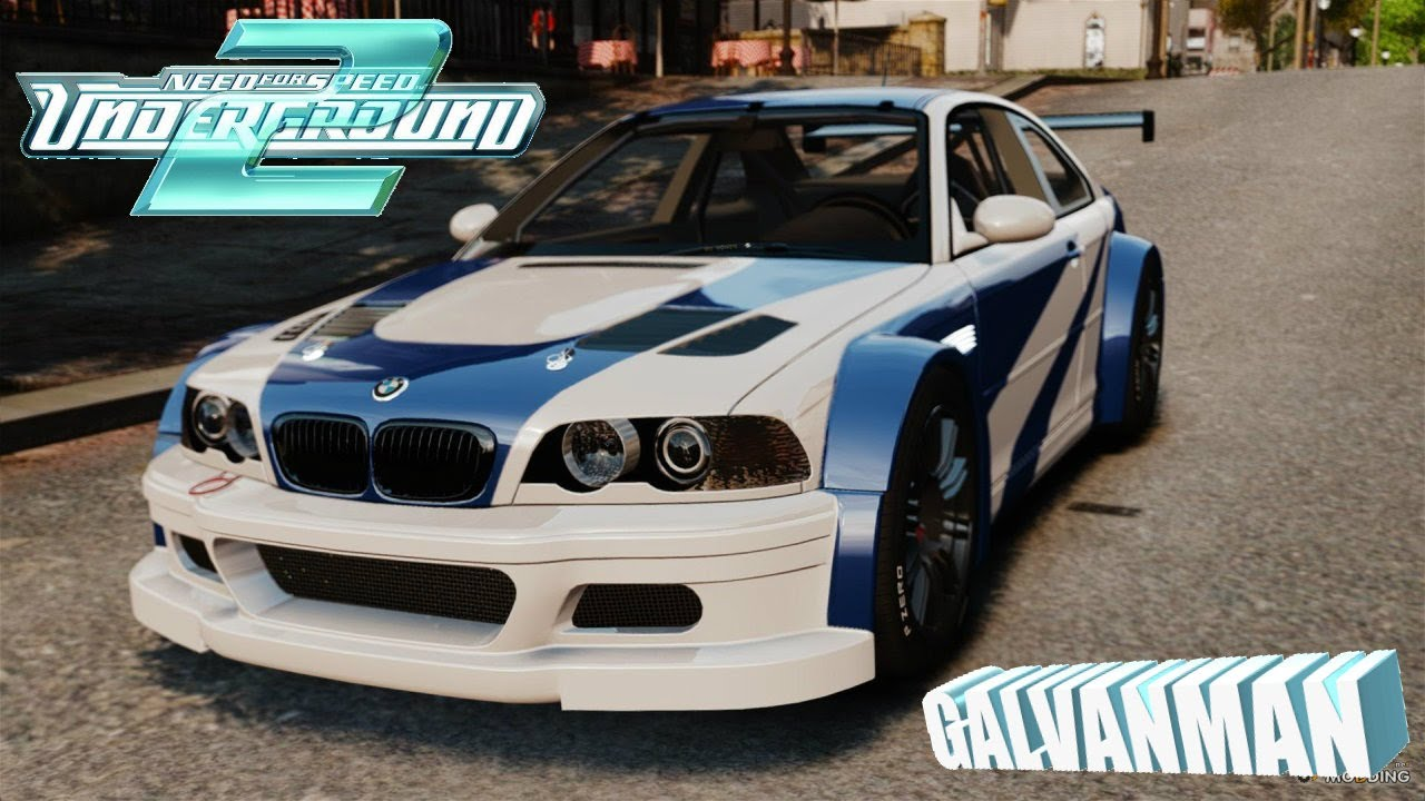 Bmw M3 Gtr V2 Most Wanted For Nfs Underground 2 Download Youtube