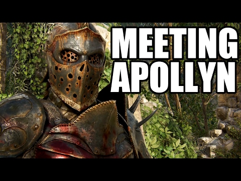FOR HONOR - Apollyon Introduction Scene / Meeting Apollyon