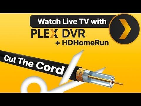 Plex DVR Review W HDHomeRun: Cord Cutting With Plex DVR & Live TV + HDHomeRun Extend Network Tuner