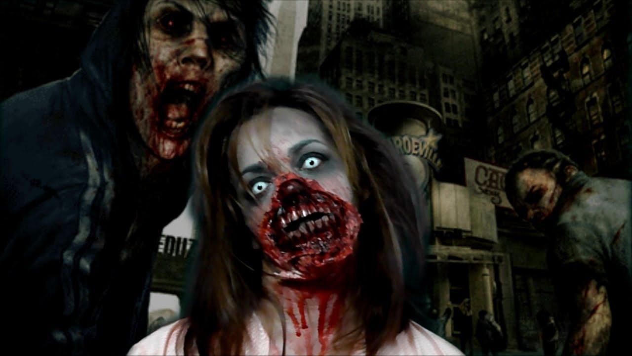 Maquillaje de zombie sfx halloween youtube - Como maquillarse de zombie ...