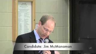 Owen Sound Municipal Election 2010 Jim McManaman - theOwen.com