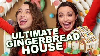 Ultimate Gingerbread House Challenge - Merrell Twins
