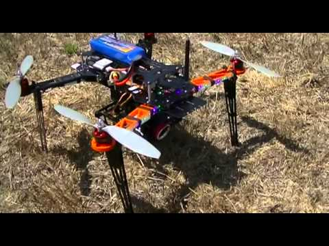 Quadcopter Video Survey Drone Demonstration