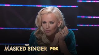Jenny McCarthy Takes A Guess Who The Raven Is | Season 1 Ep. 2 | THE MASKED SINGER