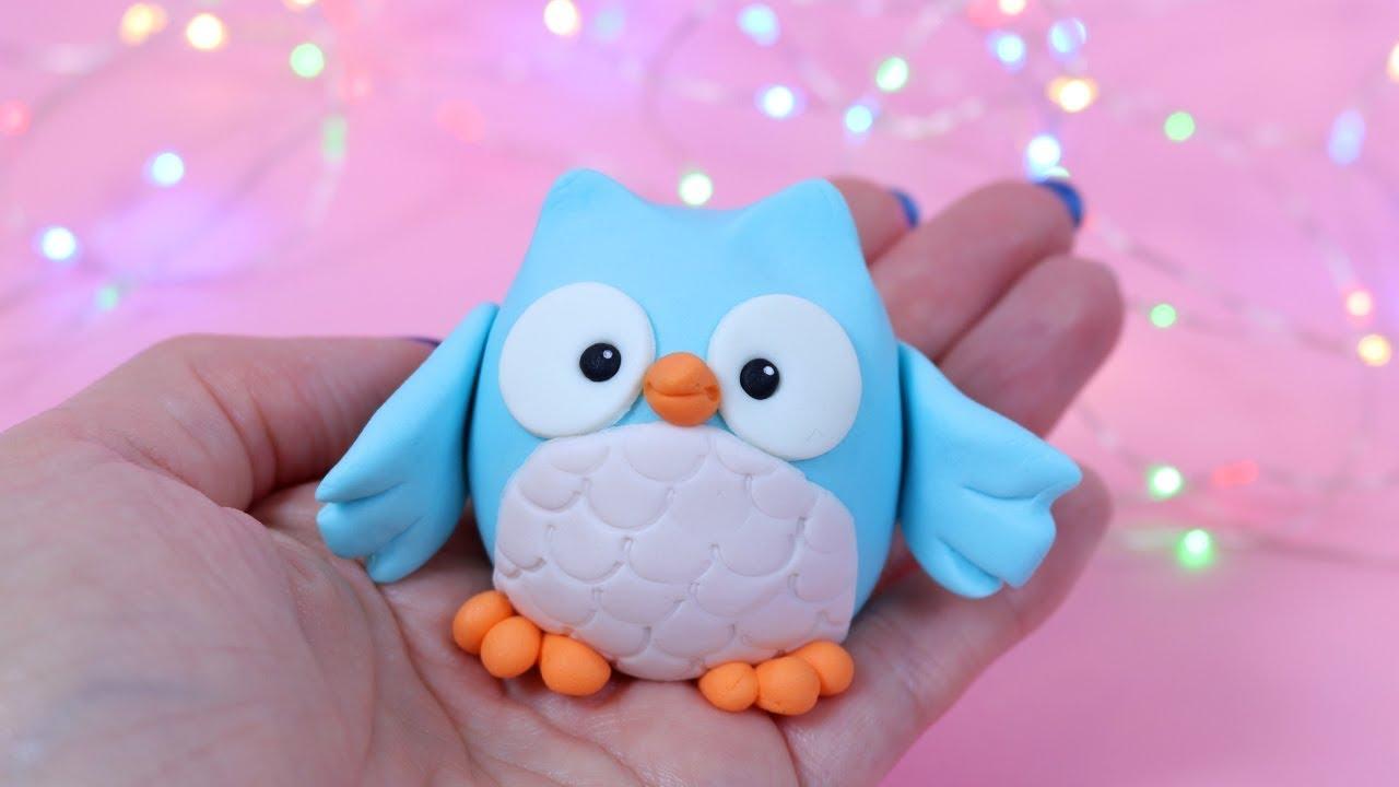 How To Make A Fondant Owl Cake