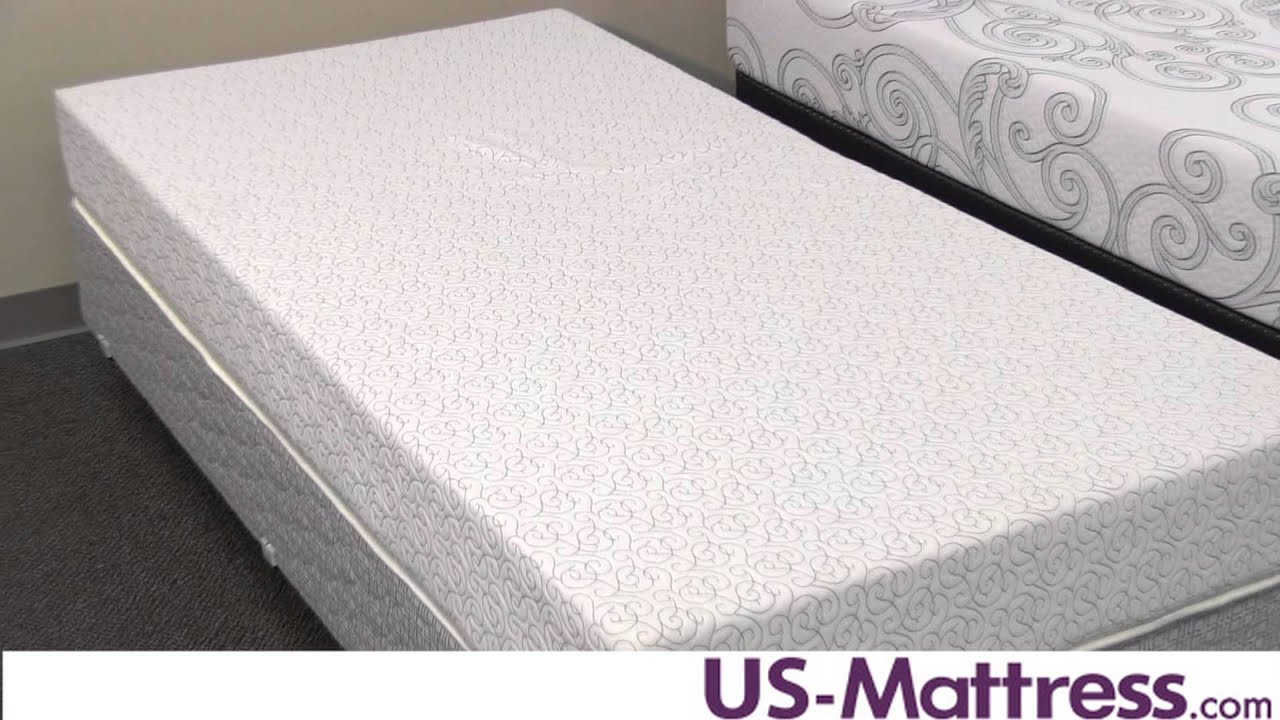 Serta Sertapedic Gel Memory Foam Bramford Cap Mattress