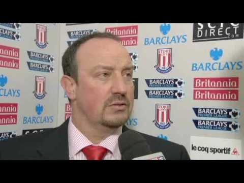 Rafa Benitez and 27,000 People (Very Funny Interview)