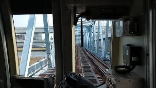 【前面展望】東京メトロ15000系「地下の南砂駅出発。地上区間へ!」
