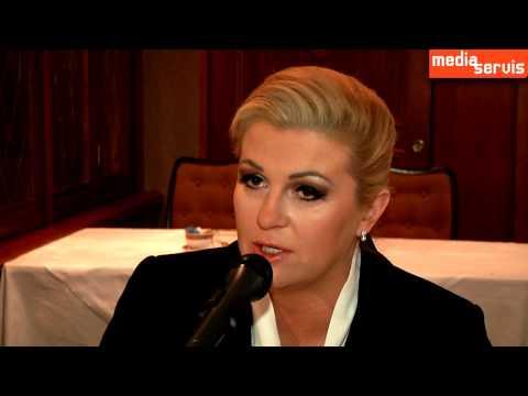 Intervju - Predsjednica Kolinda Grabar Kitarović I Media Servis 2015.