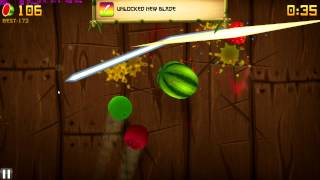 Fruit Ninja PC gameplay