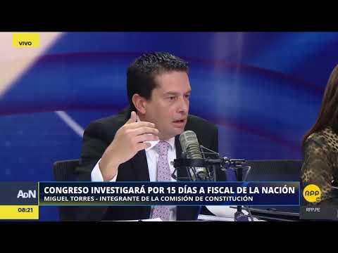 """Miguel Torres: """"No es que Fuerza Popular hace lo que le da la gana""""│RPP"""