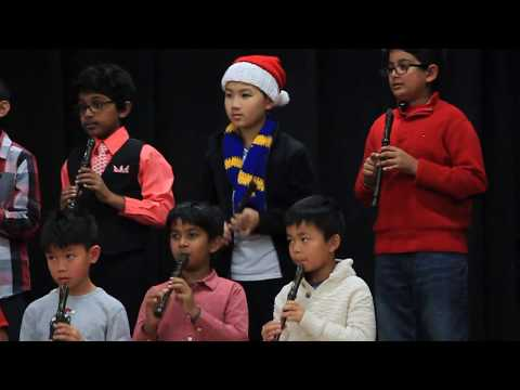 Timmy's 3rd Grade Mission Hill Middle School Christmas Recital