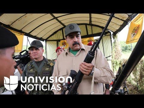 Nicolás Maduro dice que Venezuela está listo para repeler una invasión imperialista