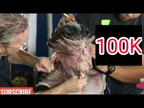 Robot 2.O Movie Akshay Kumar Making//Makeup   In Hindi