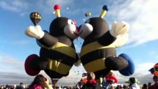 at ABQ balloon fiesta.