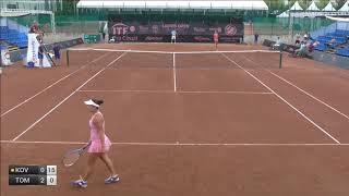 Kovinic Danka v Tomova Viktoriya - 2017 ITF Budapest