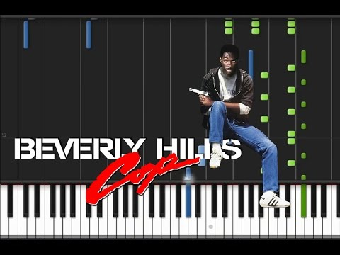 Beverly Hills Cop  Main Theme Synthesia Tutorial