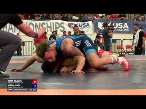 65 Finals - Frank Molinaro (Nittany Lion WC) vs. Jordan Oliver (Sunkist Kids WC)