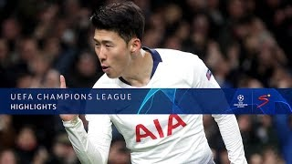 UEFA Champions League | Tottenham vs Man City | Highlights