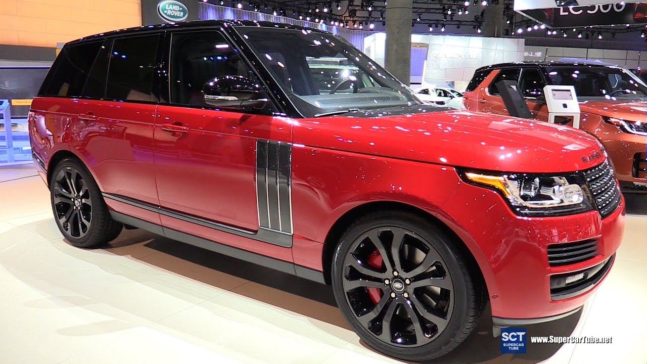 2017 Range Rover Sv Autobiography Dynamic Exterior And Interior Walkaround 2016 La Auto Show You