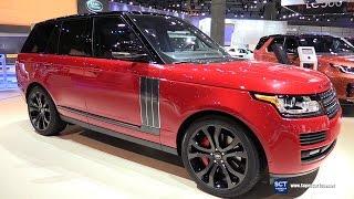 2017 Range Rover SV Autobiography Dynamic - Exterior and Interior Walkaround - 2016 LA Auto Show