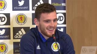 Andy Robertson Press Conference | Albania v Scotland
