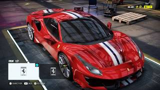 Need For Speed Heat - Ferrari 488 Pista Fully Upgraded 400+ Gameplay (100% Collectable Reward)