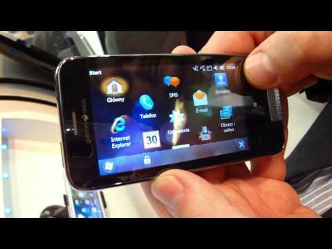 Garmin-Asus Nuvifone M10 - prezentacja dla GSMonline.pl - Mobile World Congress 2010 - Barcelona