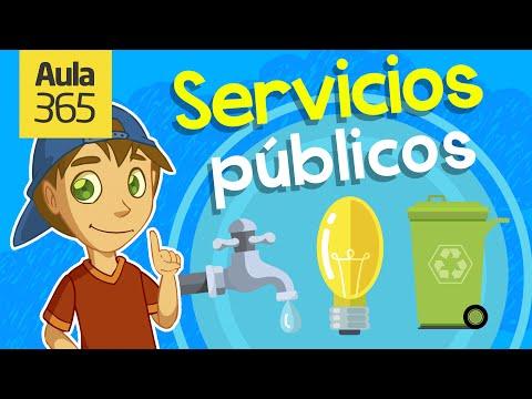 ¿Qué son los Servicios Públicos? | Videos Educativos para Niños