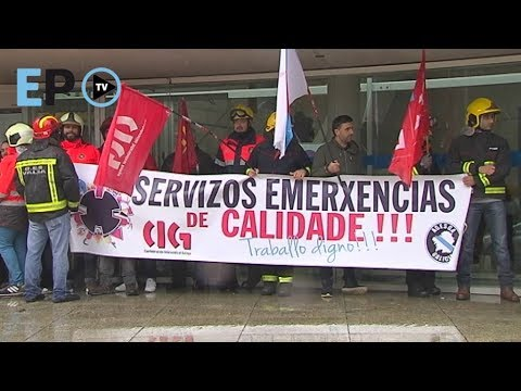 """Los GES se manifiestan ante la Diputación por el """"desmantelamiento"""" del servicio"""