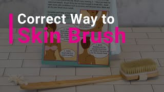 How To Skin Brush -- Step-by-Step Instructions