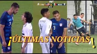 Matt Miazga Se burla De Diego Lainez | USA vs Mexico 1-0 | Patada de Agustín marchesin |