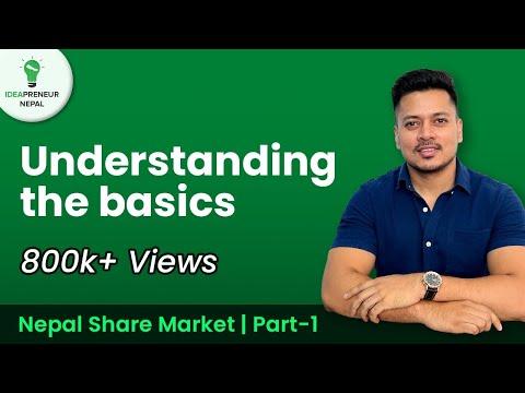Nepal Share Market - Understanding the Basics | नेपाल Share बजार - जान्नुपर्ने कुराहरु | Part 1