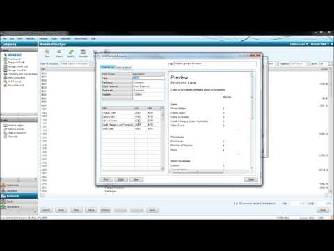 Sage Accounting Tutorial - Online Sage Training - #1 Nominal Ledger