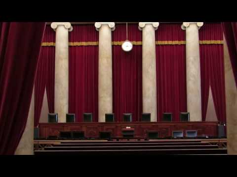 The Supreme Court of the United States - View inside the Courtroom