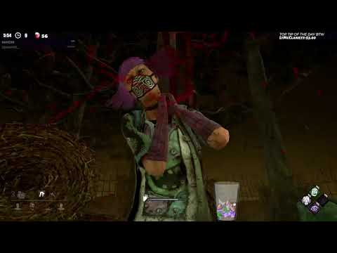Dead by Daylight RANK 1 HUNTRESS! - 100% ACCURACY!