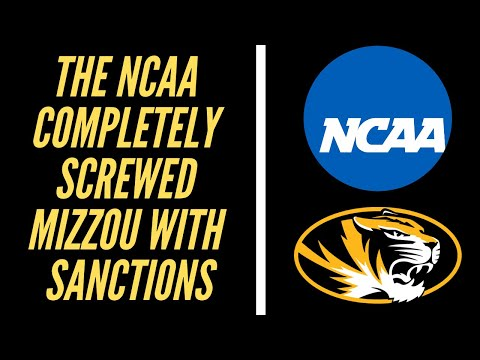 Mizzou Gets Royally Screwed By The NCAA With Ridiculous Sanctions. Football, Softball, Baseball.
