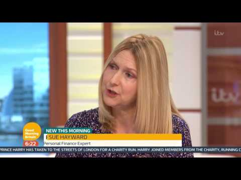 Rise In Bankruptcy   Good Morning Britain