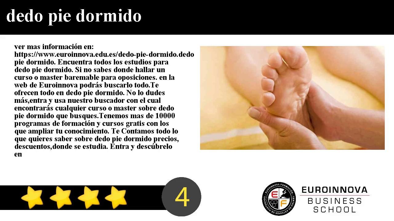 dedos del pie dormidos causas