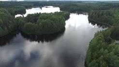 Kuhmoinen Finland, Lake Lummene area