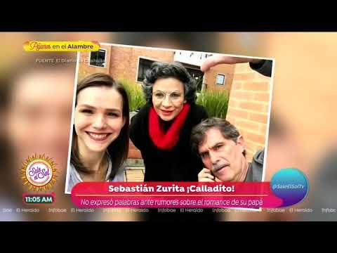 Sebastián y Emiliano Zurita hablan del romance de su papá y Kika Edgar  Sale el Sol