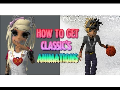 How To Get MEEZ Classic's Animations! +(Profile Animations)