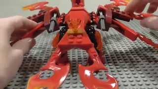 Lego Chima 2015 Flinx's Ultimate Phoenix Review! 70221!