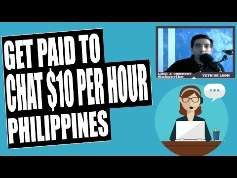 Online Part Time Jobs Philippines Earn Money Chatting