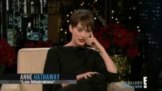 Anne Hathaway's embarrassing but funny story about Daniel Craig