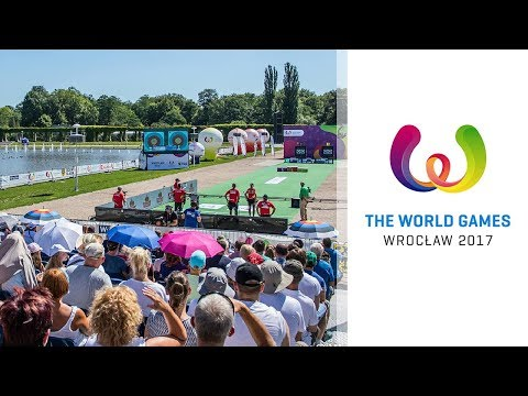 Full session: Compound mixed team finals and individual semifinals | Wroclaw 2017 World Games