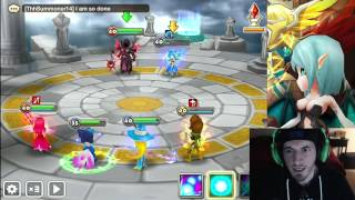 SUMMONERS WAR : Soha, the water Nine-Tailed Fox in Arena.